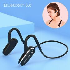 Bone Conduction Bluetooth Headset Earphone HD Music Headphone with Mic Universal