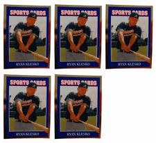 (5) 1992 Sports Cards #39 Ryan Klesko Baseball Card Lot Atlanta Braves