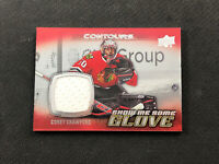 2015-16 UPPER DECK CONTOURS COREY CRAWFORD SHOW ME SOME GLOVE JERSEY #S-6