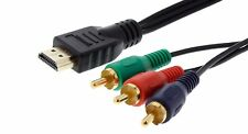 2m HDMI - 3x Cinch RGB YUV Kabel vergoldet        #h635