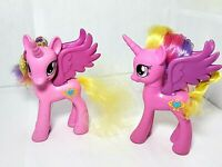 My Little Pony MLP G4 FIM Princess Cadance Rare HTF collectible 2 piece lot