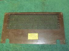 Western Electric 100F Loudspeaking Set Amplifier Metal Back Cover Only,