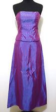 JESSICA MCLINTOCK Abito Vestito Donna Woman Party Top Skirt Dress Sz.XS - 38
