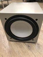 Monitor Audio Silver RSW-12 Aktiver 12-Zoll Subwoofer [Gebraucht-Silber]