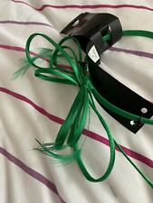 Marks and Spencers Occasions Green Bow and Feather Fascinator Headband