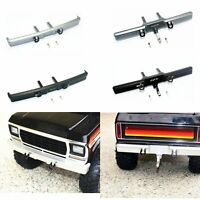 For 1/10 Traxxas TRX4 Ford Bronco RC Car Metal Front / Rear Bumper Accessories