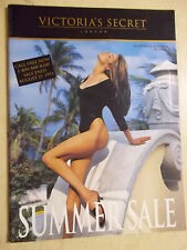 Victoria's Secret Summer Sale 1993 Stephanie Seymour on cover order form intact