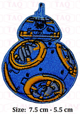 BB-8 Star Wars Embroidered Patches Applique Badge Iron Sew On BB8 BB 8 R2D2