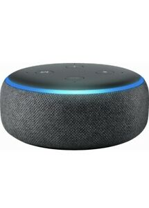 Amazon Echo Dot 3rd Generation Smart Speaker with Alexa - Charcoal Brand New