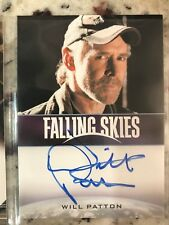 Will Patton Autograph Auto Falling Skies Card as Captain Weaver