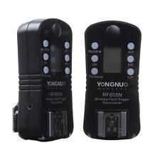 RF-605 Remote Flash Trigger & Sutter Release for Nikon D7100 D7000 D5300 D5200