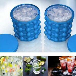 Ice Eiswürfel Eiswürfelform Eiswürfelbereiter EisMaker Silikon Küche Eisbehälter