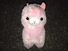"""Amuse 14"""" Pink Alpacasso Kirarin Star Plush Licensed Brand New With Tags"""