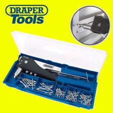 Draper 27848 2 Way Hand Riveter Kit Pop Rivet Gun Hand Riviter Tool (New 19782)