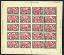 Germany 1900 Variety #9 imperf have 2 perf lines one shifted sheet MNH FORGERY