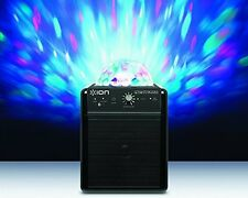 NEW Ion Audio Party Starter Bluetooth Speaker with Party Lights - Black