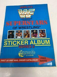 Merlin WWF Sticker Album 1992 Complete!