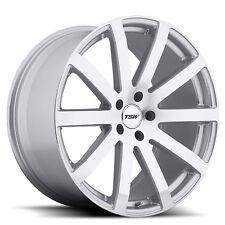 19 inch 19x9.5 Tsw Brooklands Silver wheel rim 5x112 +53(Fits: Rabbit)