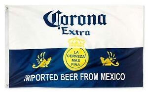 3x5FT Flag Banner Corona Beer Mexican Cerveza Party Dorm Man Cave Bar Decor USA