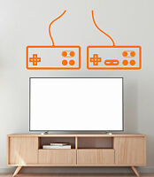 Vinyl Wall Decal Video Game Joystick Gamer Dandy Console Stickers (1591ig)