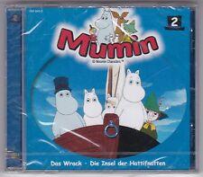 DIE MUMINS - FOLGE 2 DAS WRACK - DIE INSEL DER HATTIFNATTEN CD HÖRSPIEL NEU!