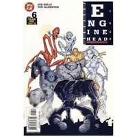 Enginehead #6 in Near Mint + condition. DC comics [*xj]