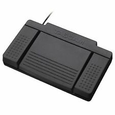 TASCAM RC 3f 3 Pedal Footswitch for Compatible TASCAM Devices