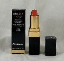 Chanel Rouge Coco Ultra Hydrating Lip Color 440 ARTHUR 3.5g / .12 Oz NEW IN BOX