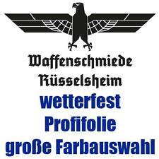 Auto Aufkleber Waffenschmiede Rüsselsheim Adler Heckscheibe z.B. Adam