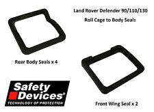Safety Devices Land Rover Defender Roll Cage to Body Rubber Seal Upgrade Kit