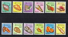 MICRONESIA, Scott # 83-102, SET OF 12 SEASHELLS (SEA SHELLS), MINT NEVER HINGED