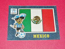 PANINI FOOTBALL 1978 ECUSSON JEAN DENIM MEXICO ARGENTINA 78 WC WM MUNDIAL