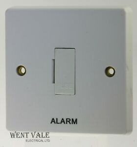 "Crabtree Capital Series 4000 - 4828/AL - 13a Unsw Fuse Connection Unit ""Alarm"""