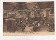 Versailles Petit Trianon Voiture du Sacre de Charles X [LL 213] Postcard 942a