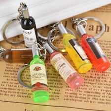 Creative Keychain car key ring pendant keyring for phone mobile bag wine bottle