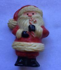"Vintage Hallmark Christmas Santa 2"" Brooch Pin Jewelry Hm-44"