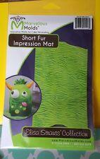 Short Fur Impression Mat Silicone Mold by Marvelous Molds #MM-IM05 GumPaste Mold