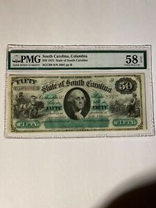 $50 State of South Carolina 1872