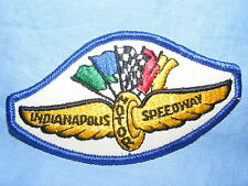 Vintage Old Sew On Patch Indianapolis Motor Speedway Advertising RARE