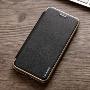 Leather Wallet Card Slim Case Magnetic Flip Cover For iPhone XS Max 11 7 12 Pro