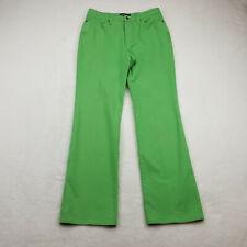 CAMBIO Womens Size 10 Straight Leg Jeans, Jade Green, High Rise - Inseam 31