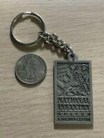 National Infantry Museum Soldier Center Travel Souvenir Keychain Key Ring #38006