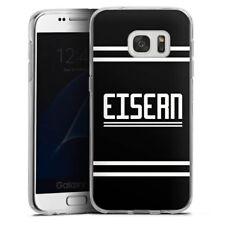 Samsung Galaxy S7 Silikon Hülle Case - Eisern 2 Union Berlin
