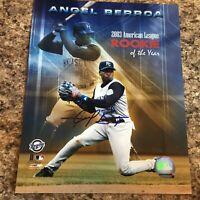 Angel Berroa Signed 8x10 Photo Autograph Kansas City Royals
