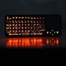 iPazzport 2.4G Wireless Keyboard Mouse Touchpad with LED Pointer Backlight