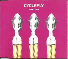 CYCLEFLY Violet High UNRELEASED & ALTERNATIVE Version CD single SEALED USA seler