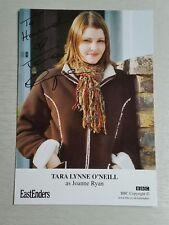 Autograph - Tara Lynne O'Neill (Joanne Ryan) Eastenders - Live ink on cast card