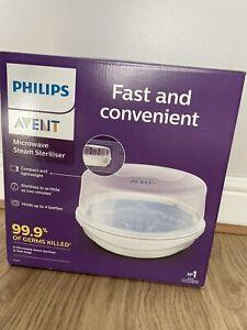 Philips Avent Microwave Steam Steriliser (SCF281/02) - New In Box Free P&P