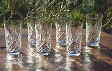 Cristal Saint Louis Chantilly  6 verres Long Drink  Orangeade - Highball glasses