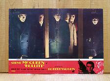 BULLITT fotobusta poster Yates Steve McQueen Bisset Roger Vaughn Duvall AS45